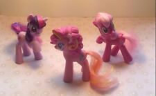 Hasbro McDonalds MINI My Little Pony Action Figures Happy Meal Toy Lot P-4