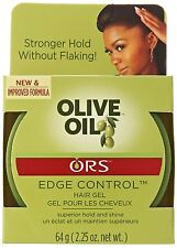 Organic R/s Root Stimulator Olive Oil Edge Control Hair Gel, 2.25 Ounce, New