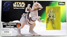 STAR WARS The Power of the Force LUKE SKYWALKER & TAUNTAUN. KENNER, 1997.