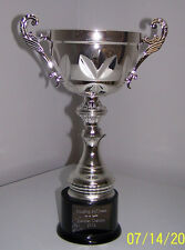 Metal Golf Cup Trophy Award Silver Finish