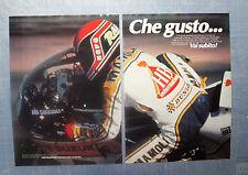 MOTOSPRINT982-PUBBLICITA'/ADVERTISING-1982- SUZUKI HB RANDY MAMOLA A DAYTONA (B)