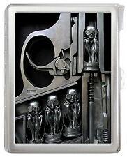 HR GIGER #S25 Cigarette Holder Case with Lighter New Hot Gift