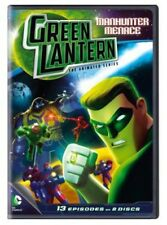 Green Lantern: The Animated Series - Manhunter Menace (2013, REGION 1 DVD New)