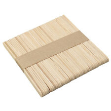 50PCS Wooden Waxing Spatula Tongue Depressor Tattoo Wax Medical Stick Medical