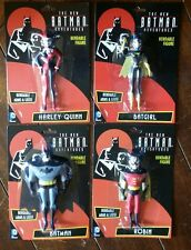 "4 x The New Batman Adventures 5 1/2"" Bendable Action Figures!"