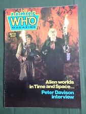DOCTOR WHO MAG - NO 106 - NOV - PETER DAVISON