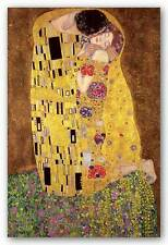 ART POSTER The Kiss Gustav Klimt