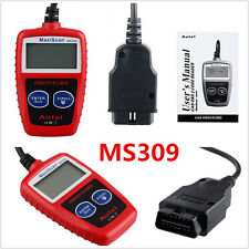 Mini Professional MS309 OBD2 OBDII EOBD Autos Data Tester Diagnostic Scanner Kit