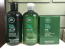 Paul Mitchell Tea Tree Special SHAMPOO & CONDITIONER 10.14oz DUO+ BODY BAR 5.3oz