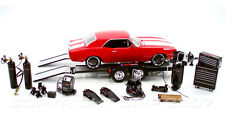 1/18 GMP Performance Parts Diecast Car Tool and Trailer Set Accessories Pack