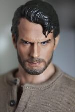 Custom Made 1/6 Scale Henry Cavill clark kent man of steel head fit hot toys
