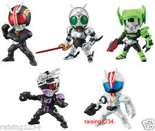 BANDAI Kamen Masked Rider Advance Gashapon Figure 5 (Set of 5) Black Shadow Moon