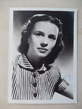 """Jessica Tandy Autographed 5"""" X 7"""" Photograph from Estate"""