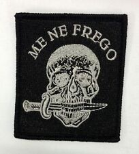 Me Ne Frego/Italian Fascist Embroidered Patch/Mussolini's Fascism Patches