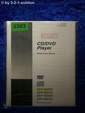 Manuale di istruzioni Sony DVP ns305/ns310/ns410/ns405 CD/DVD Player (#3303)