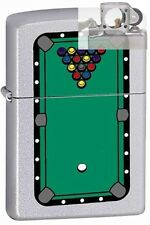 Zippo 205 pool table rack of balls Lighter with PIPE INSERT PL