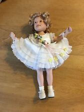 """Adorable Approximate 10"""" Elle Hutchins Shirley Temple Baby Take A Bow Doll"""