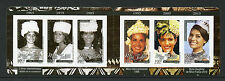 French Polynesia 2016 MNH Miss Tahiti Past & Present 6v S/A Booklet Stamps