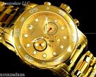 NEW Invicta Men's Pro Diver Scuba Swiss 18k Gold Plated Stainless Steel Watch !!