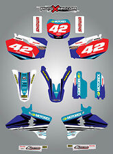 Yamaha YZF 250 2003 - 2005 STRIKE style full graphics kit / stickers / decals