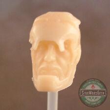 "ML182 Tony Stark Iron Man Custom Cast head sculpt use w/6"" Marvel Legends figure"