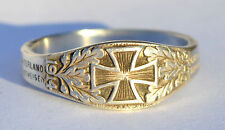 ww2 german silver ring size 11