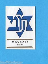 FOOTBALL CLUBS-PANINI 1975-Figurina n.146- MACCABI - ISRAELE -SCUDETTO-Rec