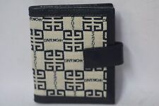 NEW Vintage GIVENCHY COUTURE card photo Wallet BI-Fold snap closure