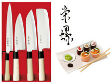 Traditionelle japanische Kochmesser Sushi Messer 4 Set