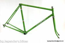 VINTAGE Race Bike Filipetti Lugged Steel Frame Set 60'S Gipiemme Dropouts