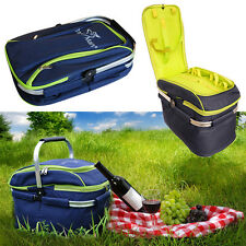 25L Thermos Insulated Cool Cooler Picnic Camping Food Drink Storage Bag Box New