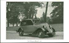 """Publicité Ancienne """" Voiture Renault La Celtaquatre """" 1934  ( P 34 )"""