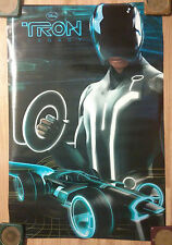 Movie Poster Disney's Tron Legacy ~ Motorcycle Future Neon Rinzler Anis Cheurfa