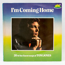Tom Jones - I'm Coming Hogar - 20 de sus finest songs - Disco De Vinilo Álbum LP
