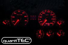 LED Compteur de vitesse combiné instrument set Kit de conversion rouge pnp socle AUDI 100 c4 a6 c4 v8 200 q