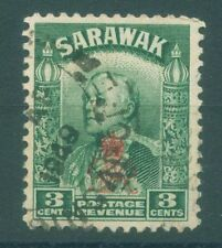 [JSC]~1947 SARAWAK BROOKE EMPIRE OLD STAMP ~ GREEN