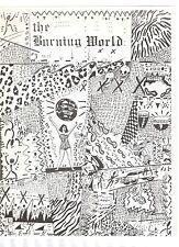 THE BURNING WORLD LITERARY JOURNAL 1986 #3 DIANE WAKOSKI JOHN LEE HALL