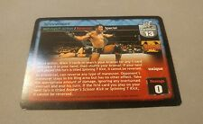 WWE Raw Deal WWF BOOKER T SPINNEROONI PROMO CARD