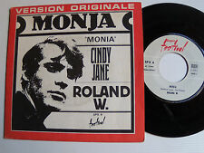 "ROLAND W. : Monja / Cindy Jane - 7"" SP 1968 French issue FESTIVAL SPX 6"