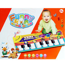 Hot Sale! Baby Kids Play Crawling Mat Touch Learn Singing Piano Keyboard Music