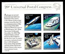 1989 - FUTURISTIC MAIL DELIVERY- #C126 Mint Never Hinged Souvenir Sheet