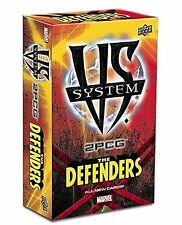 VS SYSTEM 2PCG The Defenders MARVEL Card Game ENGLISH OVP Brettspiel Upper Deck