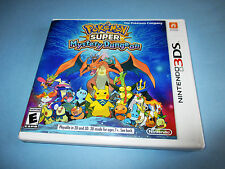 Pokemon Super Mystery Dungeon (Nintendo 3DS) XL 2DS Game w/Case & Insert