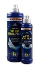 MENZERNA MARINE GELCOAT Fine Cut and Gloss Polish Bootspolitur Bootspflege 1Ltr.