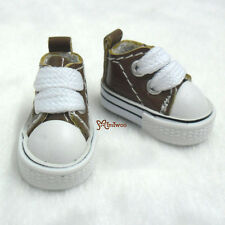 "Mimi Collection 12"" Neo Blythe Pullip Doll PU Leather MICRO Shoes Sneaker BROWN"