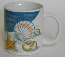 Sea Shell Starfish Sand Dollar Clam Beach ~ Coffee Cup Mug