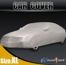 Full Car Cover Waterproof Sun UV Snow Dust Rain Resistant Protection Size XL #J