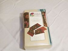 1 table runner 4 reversible placemats set place mats creative cuts Windsor Park
