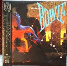 Rare David Bowie Lets Dance MINI Vinyl CD Edition EMI Japan Carded Sleeve Promo