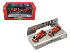 FERRARI F1 F2008 KIMI & MASSA CONSTRUCTORS 1/43 MODEL CAR BY HOTWHEELS L8784